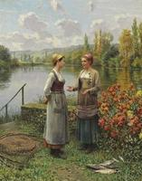 Two Women in a Landscape
